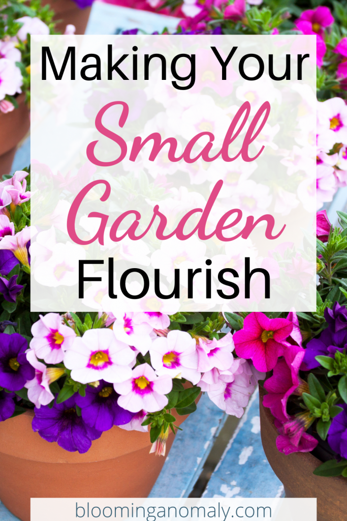 maing your small garden flourish