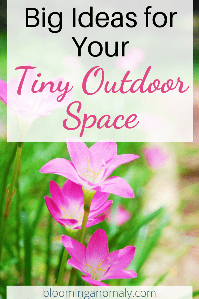 big ideas for your tiny outdoor space