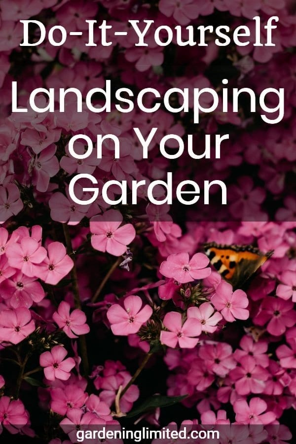 do-it-yourself landscaping on your garden