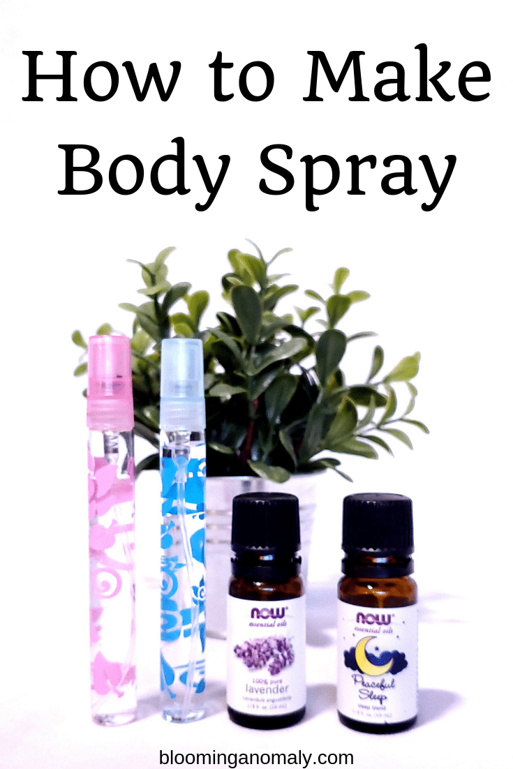 how to make body spray