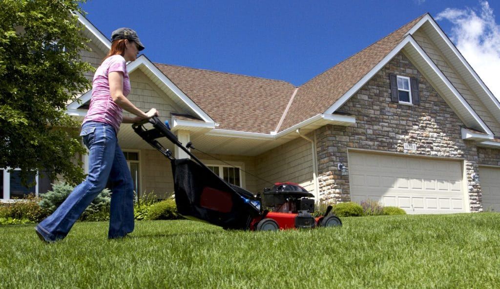 For Women, Outdoor Power Equipment Makes Yard Care Easy, Gets Jobs Done
