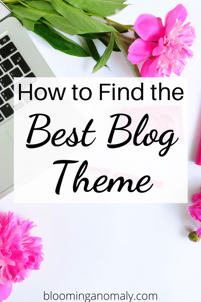 how to find the best blog theme